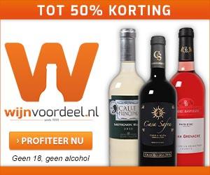 € 20 korting op wijn door kortingscode @ Wijnvoordeel