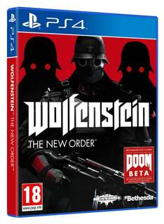 Wolfenstein : The New Order (Xbox One / PS4) voor € 28,97 @ Amazon.fr
