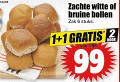 12 broodjes voor €0,99 @ Dirk