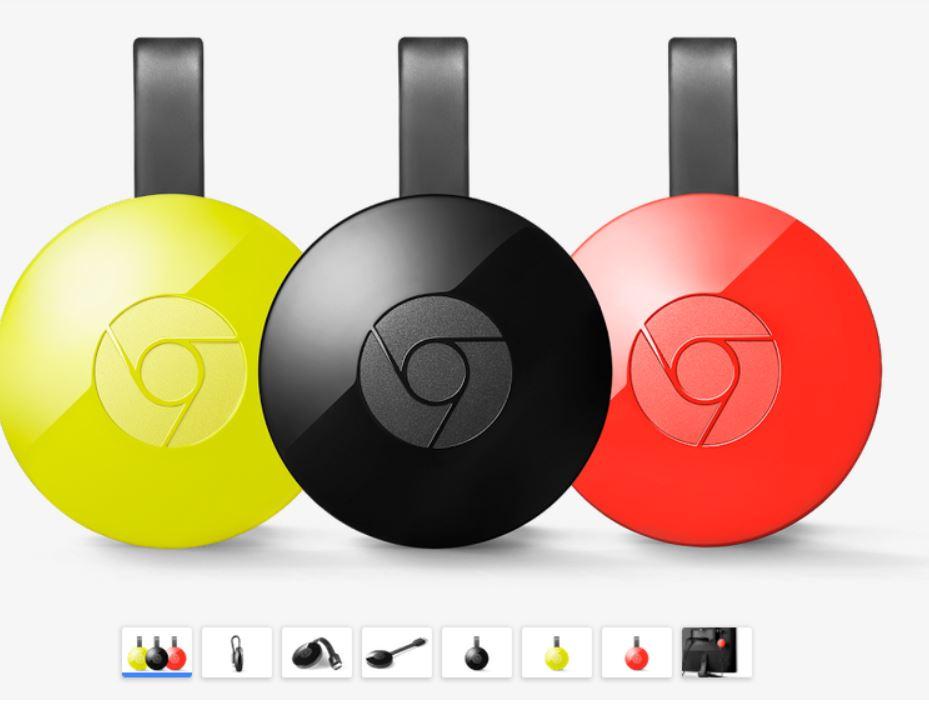Bespaar € 10 op de Chromecast @ Google Webstore