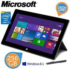 Microsoft Surface Pro 2  tablet (256GB) voor €656,90 @ iBOOD