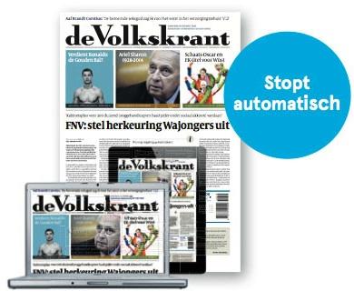 2 weken gratis de Volkskrant (vrijblijvend)