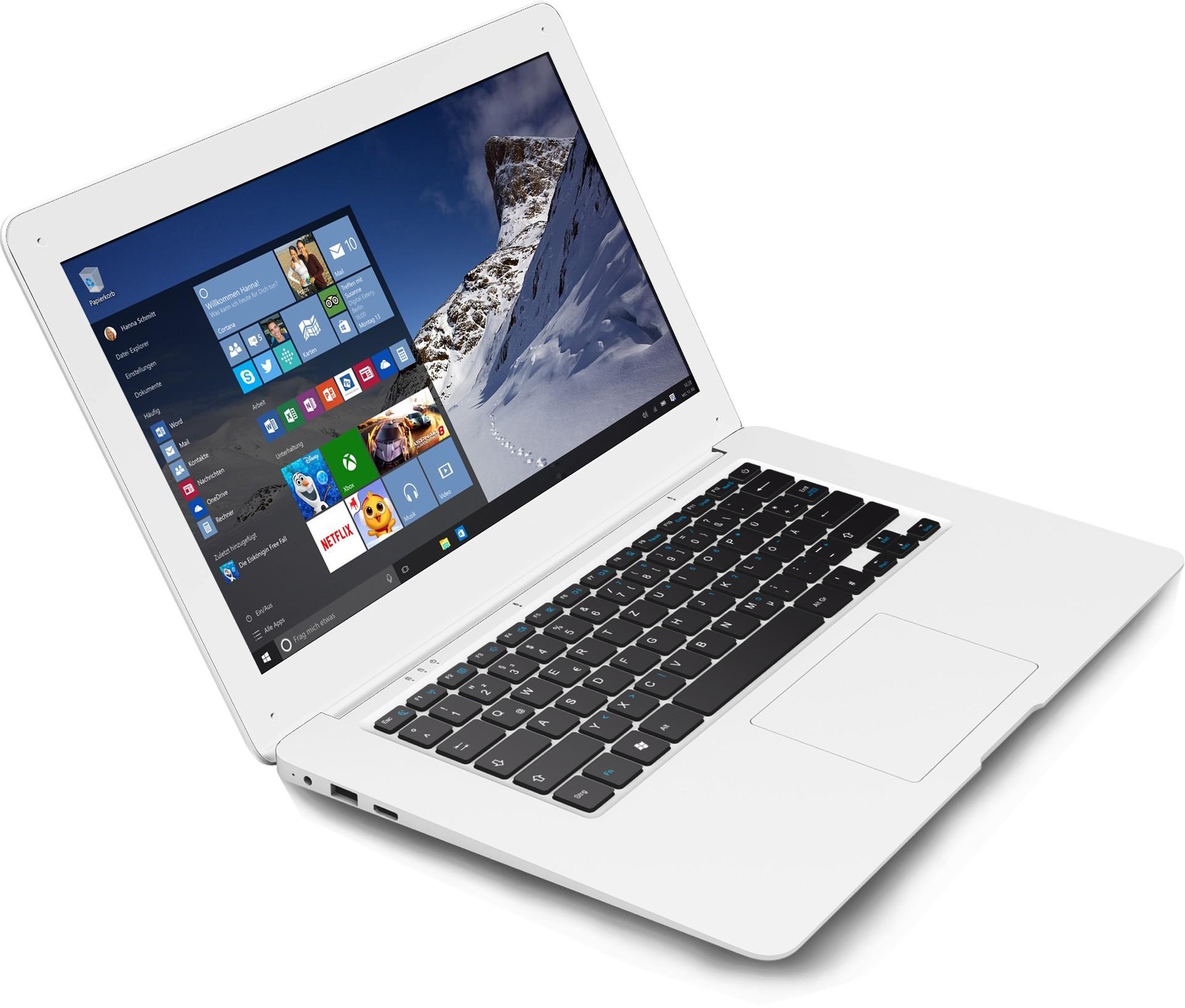 Odys Trendbook 12 met Windows 10 voor €177,93 @ Notebooksbilliger