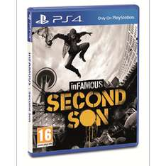 Sony Infamous: Second Son (PS4) voor €29,99 (€24,99 met code) @ Dixons