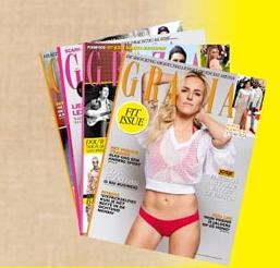 1 maand GRATIS magazine GRAZIA @ Abonnementenland