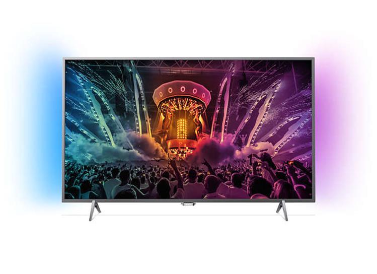"""Philips Ambilight2 49"""" 4K UHD TV 49PUS6401/12 @ Apollo"""