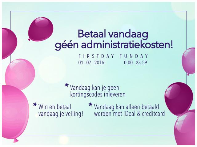 Vandaag geen administratiekosten van €5,- @ Ticketveiling