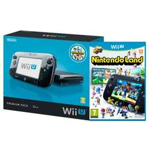 Wii U Console 32GB Premium met Nintendo Land voor €224.98 @ Intertoys