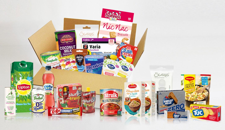 [UPDATE: nu €10] Doos met boodschappen t.w.v. €40 voor €12,75 thuisgestuurd @ Happybox