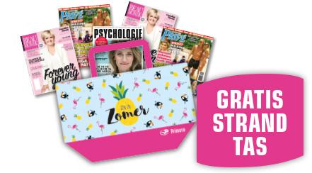 Gratis strandtas bij aankoop van tijdschriften @ Primera