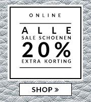 [UPDATE - verlengd] Alle sale 20% EXTRA korting - dames & heren - @ Manfield