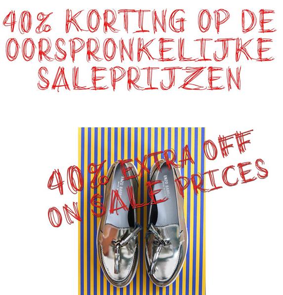 40% EXTRA korting op de saleprijzen @ Mayke