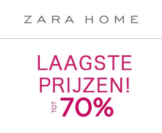 3e Afprijzing met tot 70% korting @ ZARA HOME