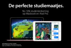 Back To School: 10% korting op iPad en Mac @ iCentre