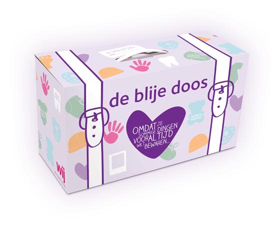 Gratis magazine WIJ Jonge Ouders, babymutsje en 'De Blije Doos' @ DeBlijeDoos.nl
