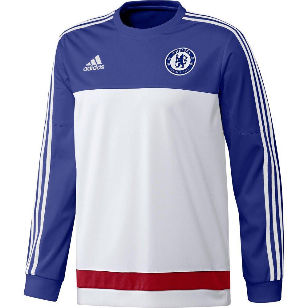 Adidas Chelsea Trainingstrui White Chelseablue 2016 maat M