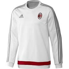 adidas AC Milan Trainingstrui 2015-2016 White Victory Red @ Voetbalshop.nl
