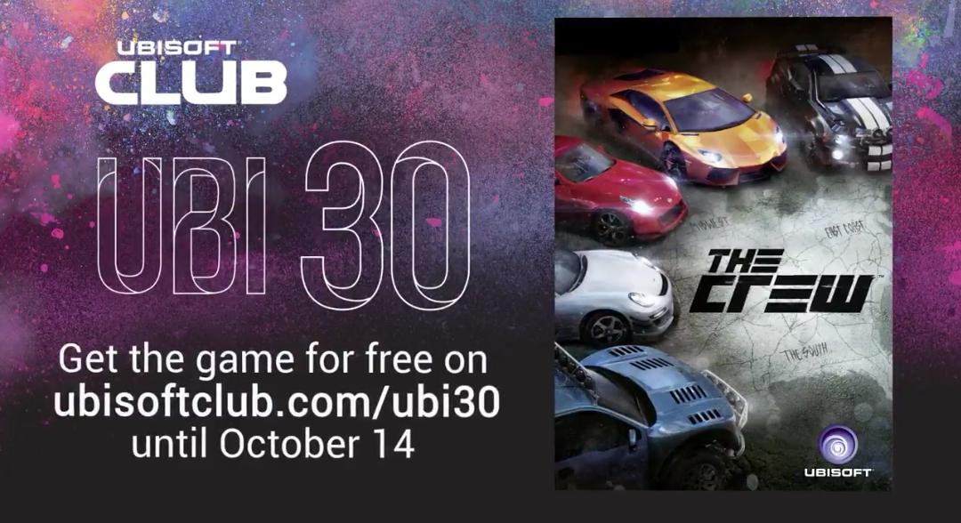 The Crew (PC) gratis vanaf 14 september @ Ubisoft Club
