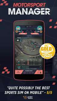 Motorsport manager(android) 10 ct@googleplay