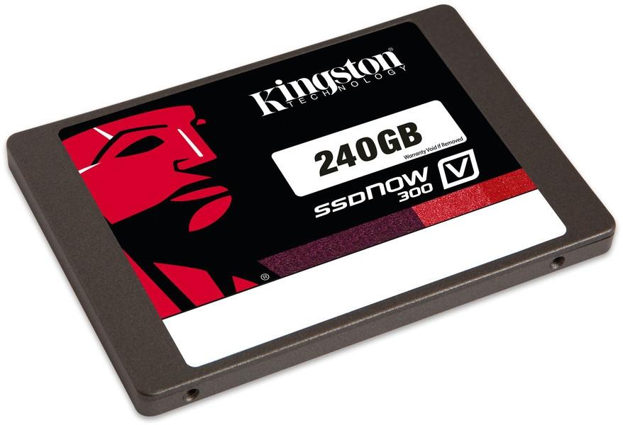 Kingston SSDNow V300 240GB voor € 89 @ Saturn