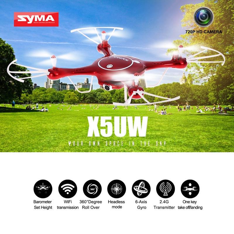 Drone: Syma X5UW Wifi 720P HD Camera