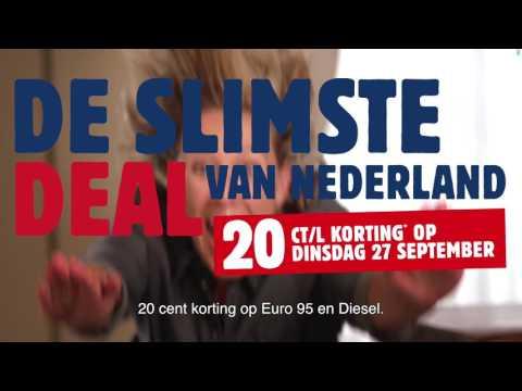 Dinsdag 20ct korting op Euro 95 en Diesel @ Tango