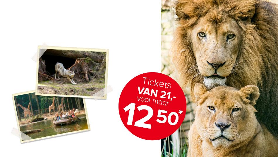 Dierenpark Amersfoort voor €13,20 @ OudersVanNu