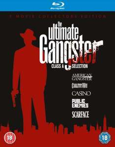 The Ultimate Gangster boxset - 5 films op Blu-ray voor € 12,49 @ Zavvi