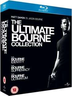 The Ultimate Bourne Collection (Blu-ray) voor € 11,25 @ Zavvi