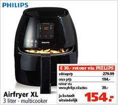 Philips aifryer XL HD9240/90 @ Marskramer
