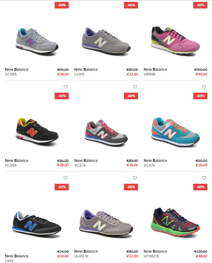 New Balance sneakers - dames / heren / kids - 60% korting @ Sarenza