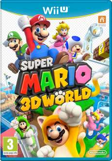 Super Mario 3D World (Wii U) game voor € 37,49 @ Zavvi