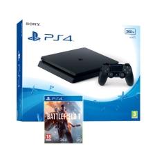 PS4 Slim 500GB + Battlefield 1 of Fifa 17 + Doom (of ander spel ) voor 265,75 incl. verzending via Shopto