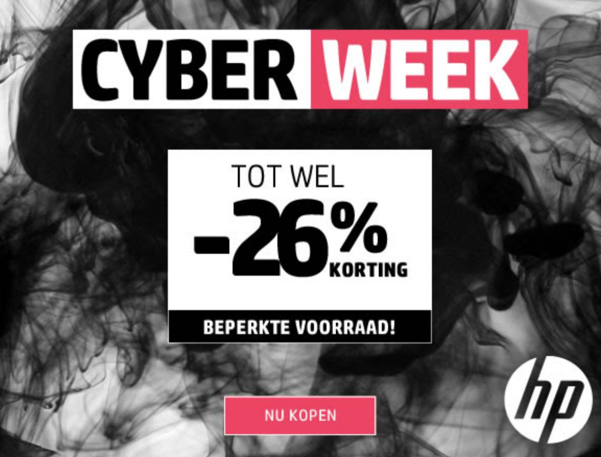 [Cyber Week] Tot 26% korting @ HP