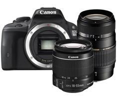 Canon EOS 100D + 18-55mm DC III + Tamron 70-300mm Di LD Macro @ Kamera-express
