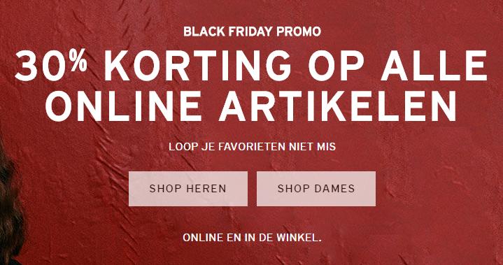 [Black Friday Weekend] 30% korting op alle online artikelen @ Levi's