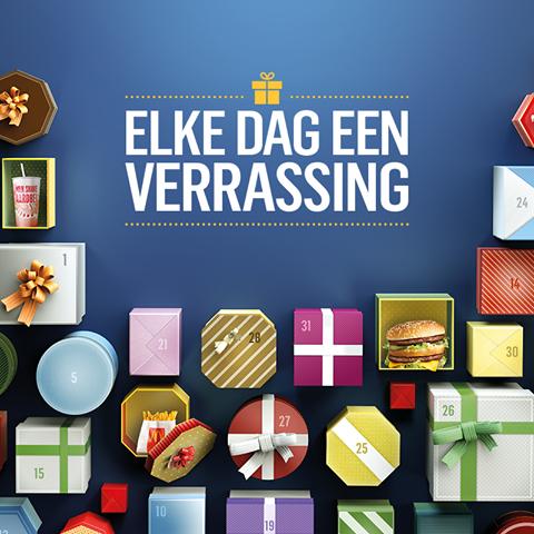 Alle aanbiedingen van McDonalds kalender December 2016!