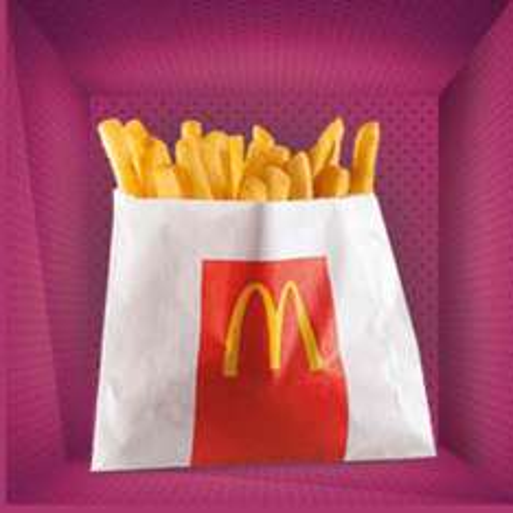 GRATIS kleine Franse friet @McDonald's