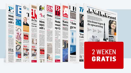 2 weken gratis AD of de Volkskrant