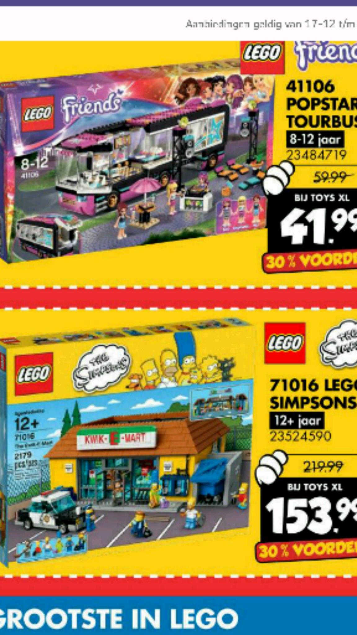 Lego Simpsons Kwik e Mart 17016 voor €153,99 @ ToysXL