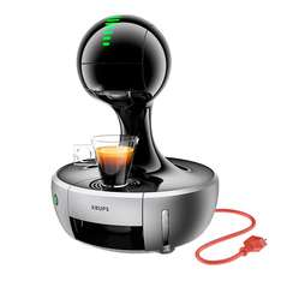 KRUPS DOLCE GUSTO DROP SILVER voor 77 - 25 = 52 euro incl 25 euro koffietegoed @ 1Dayfly