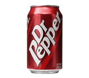 Blik Dr. Pepper (330ml) voor € 0,29 @ ter Huurne Hollandmarkt Buurse