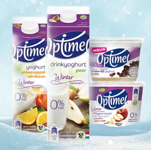 [VERLENGD] Geld terug actie yoghurt/kwark Wintervariaties @ Optimel