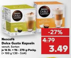 -27% Diverse Dolce Gusto capsules @ Kaufland (DE) [GRENSDEAL]