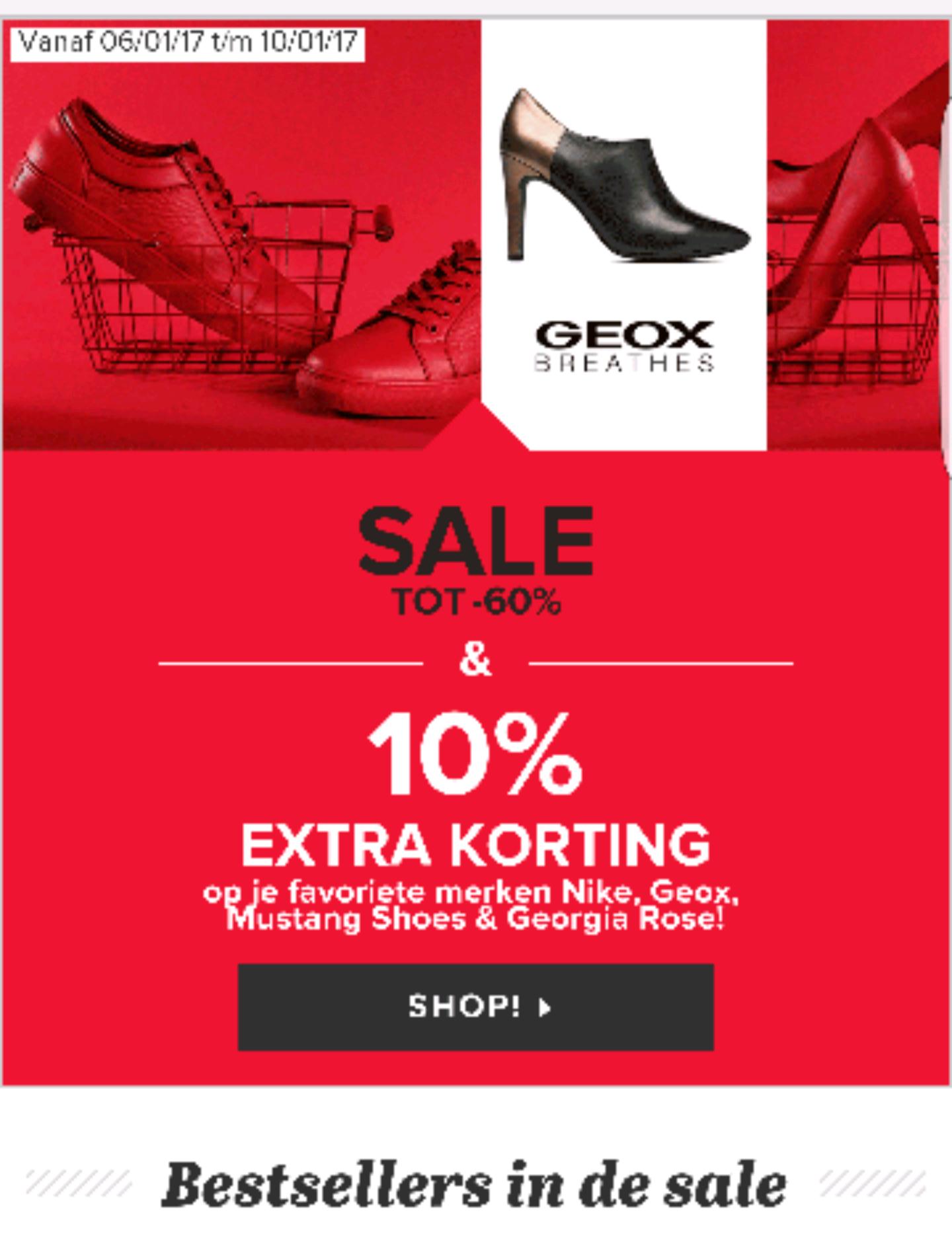 Sale tot 60% @ Sarenza