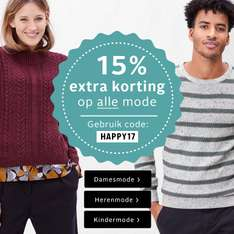 15% Korting op alle mode @ Otto