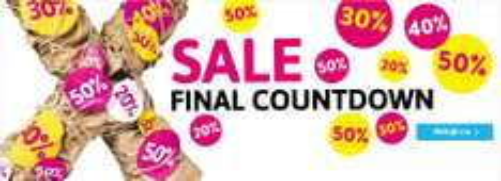 Xenos SALE final countdown
