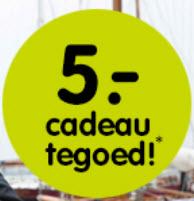 ivm nieuwe webwinkel € 5,- kado bij besteding van € 25,- @ ANWB