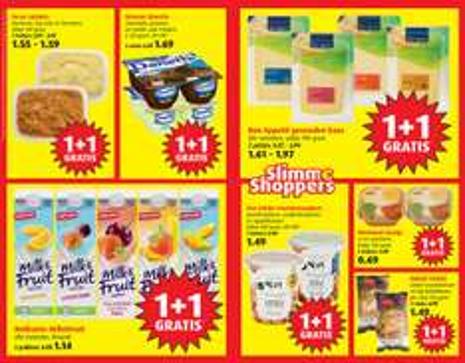 30 producten 1 + 1 gratis @ Boni supermarkt