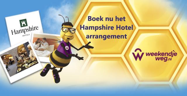 Hampshire Hotel arrangement via Freebees @weekendjeweg